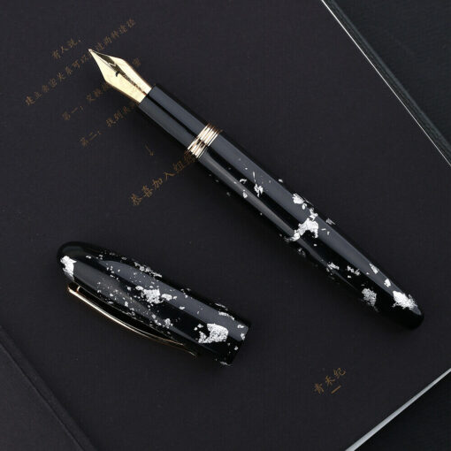 Moonman M8 Fountain Pen Colorful Acrylic Luxury Pen Fine Nib Converter Gift Pen Writing Ink School 3