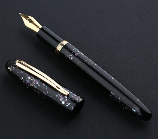 Moonman M8 Fountain Pen Colorful Acrylic Luxury Pen Fine Nib Converter Gift Pen Writing Ink School 4
