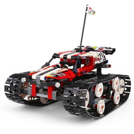 Mould King Technic Series The APP RC Track Remote control Race Car Building Blocks Bricks Educational 4