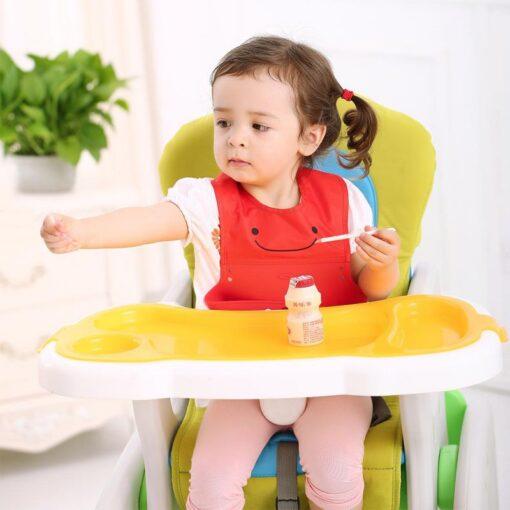 Multi Styles Bibs Burp Cloths Girl Boy Kid Newborn Waterproof Silicone Cute Lovely Bandana Bib Saliva 1