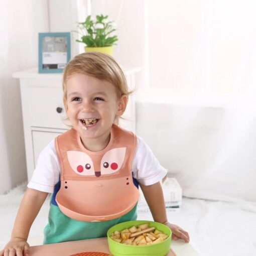 Multi Styles Bibs Burp Cloths Girl Boy Kid Newborn Waterproof Silicone Cute Lovely Bandana Bib Saliva 2