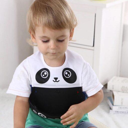 Multi Styles Bibs Burp Cloths Girl Boy Kid Newborn Waterproof Silicone Cute Lovely Bandana Bib Saliva 3