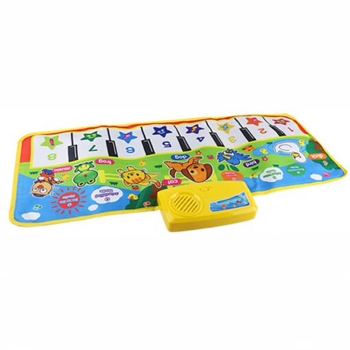 Multi function New Touch Play Keyboard Musical Music Singing Gym Carpet Mat Touch Play Keyboard Musical 3