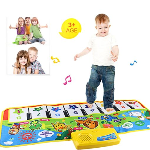 Multi function New Touch Play Keyboard Musical Music Singing Gym Carpet Mat Touch Play Keyboard Musical