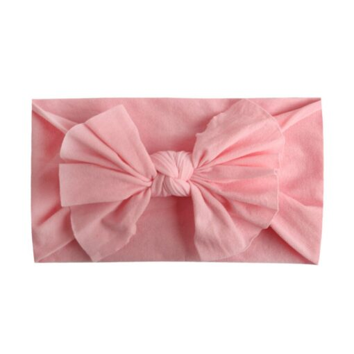 Multicolor Baby Headband Elastic Candy Solid Color Head Wrap Newborn Head bands Bowknot Bows kids Baby 2