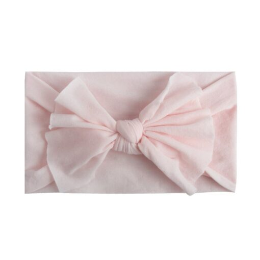 Multicolor Baby Headband Elastic Candy Solid Color Head Wrap Newborn Head bands Bowknot Bows kids Baby 3