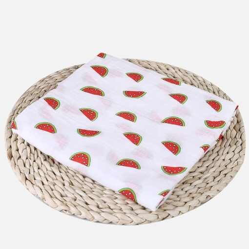 Muslin 100 Cotton Baby Blanket Swaddles Soft Newborn Blankets Bath Gauze Infant Wrap Sleepsack Stroller Cover 3