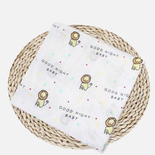 Muslin 100 Cotton Baby Blanket Swaddles Soft Newborn Blankets Bath Gauze Infant Wrap Sleepsack Stroller Cover 4