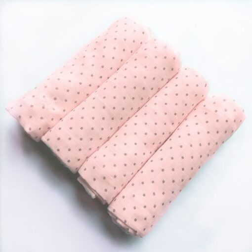 Muslin Diapers Baby Repeated Cloth Nappy Cotton Swaddle Wrap Blanket Newborn Bath Towel Nursing Cover 70 4