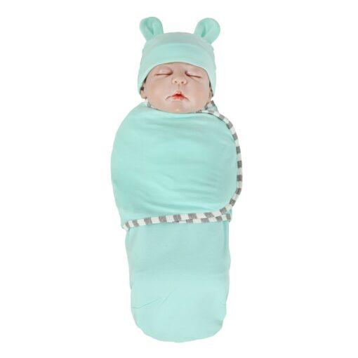 Muslin baby swaddle soft infant newborn baby Organic Cotton Baby Bedding Bath Towel For Newborn Baby 2