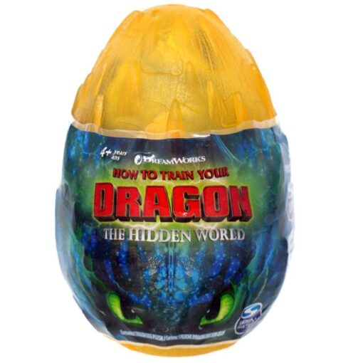 NEW 2019 How to Train Your Dragon egg Light Fury Toothless Action figure Hiccup White Dragon 1
