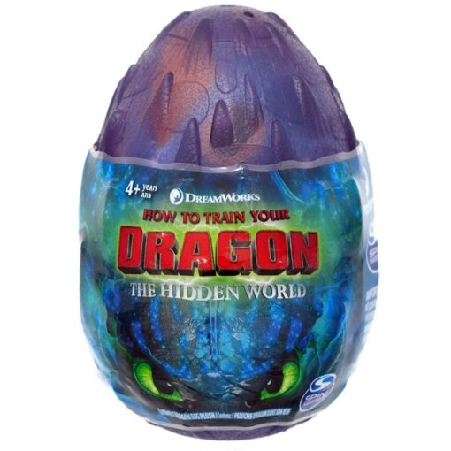 NEW 2019 How to Train Your Dragon egg Light Fury Toothless Action figure Hiccup White Dragon 4