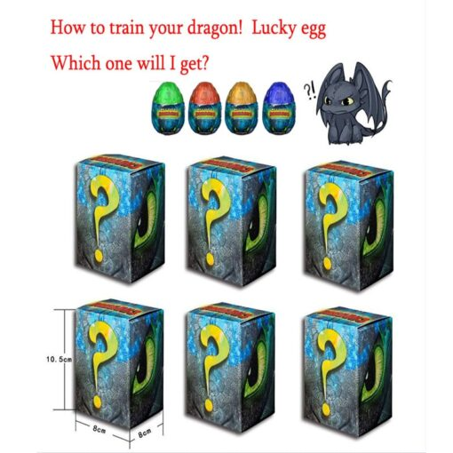 NEW 2019 How to Train Your Dragon egg Light Fury Toothless Action figure Hiccup White Dragon 5
