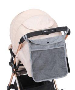 NEW Baby Stroller Bag Hanging Net Portable Baby Umbrella Storage Bag pocket Cup Holder Organizer Universal 1