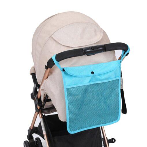 NEW Baby Stroller Bag Hanging Net Portable Baby Umbrella Storage Bag pocket Cup Holder Organizer Universal 5