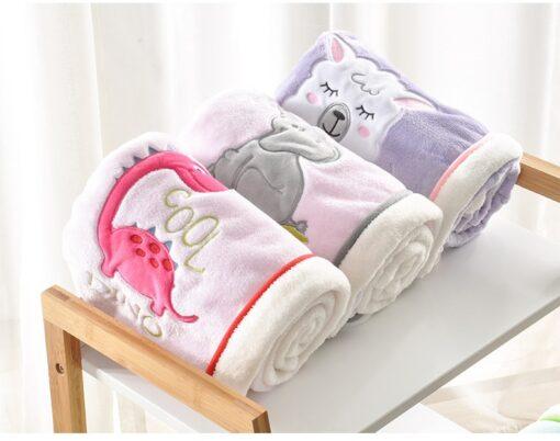 NEW Genuine Baby Blanket Baby Swaddle 100 75CM Wrap Newborn Super Soft Kids Bedding Diaper AKX11 2