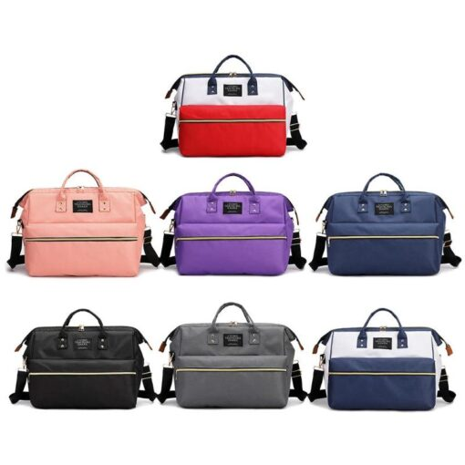 Nappy Bag Mummy Large Capacity Bag Mom Baby Multi function Waterproof Outdoor Travel Diaper Bags Stroller 1