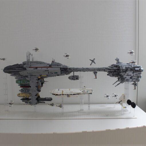 New 05083 Star Toys War Compatible With MOC 5083 UCS Nebulon B Medical Frigate Model Building 3