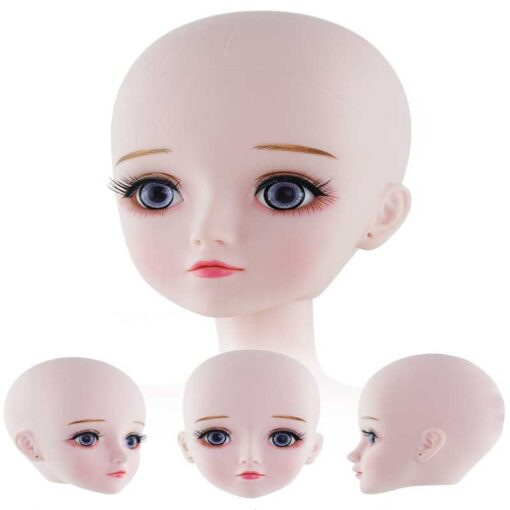 New 60 CM 1 3 Bjd Doll 22 Movable Joint Powdery Muscle 4D Simulation Eyelashes Long 5