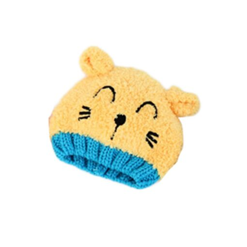 New Arrival Baby Girl Boy Winter Hat Baby Soft Warm Beanie Hat Crochet Elasticity Knitted Hats 3