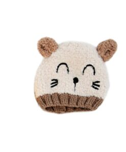 New Arrival Baby Girl Boy Winter Hat Baby Soft Warm Beanie Hat Crochet Elasticity Knitted Hats 4