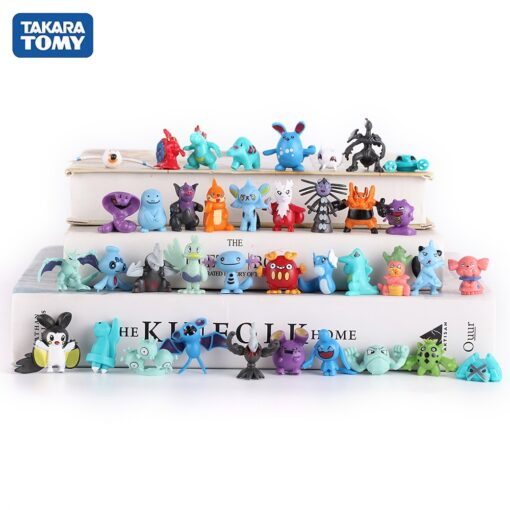 New Arrival multicolor 7CM Pet Elf Ball Pokemones Pokeballs with 2 3cm figures Toys Can Dream 4