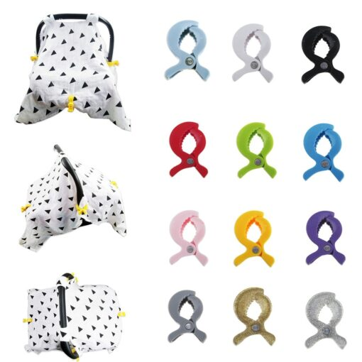 New Baby Stroller Accessories Stroller Cover Clip Blanket Toy Stroller Pegs Hook Baby Stroller Accessories High
