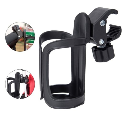 New Baby Stroller Cup Holder Rack Bottle Universal 360 Rotatable Cup Holder for Pram Stroller Carrying 12