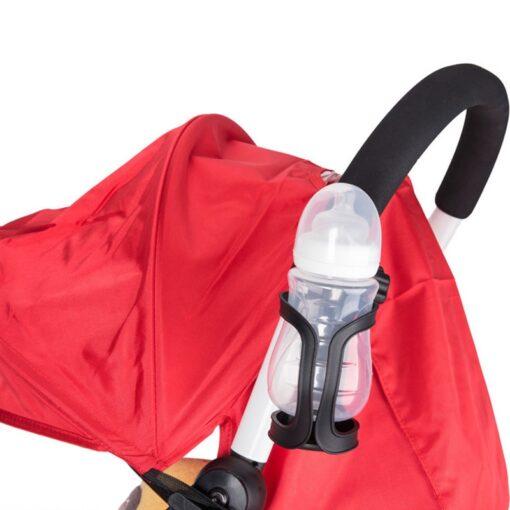 New Baby Stroller Cup Holder Rack Bottle Universal 360 Rotatable Cup Holder for Pram Stroller Carrying 16