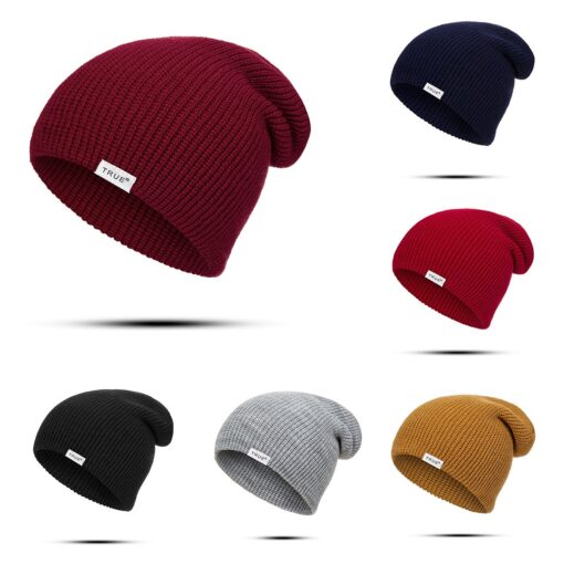 New Baby Winter Hat Cap Baby Casual Beanies Men Women Girl Boy Knitted Winter Hat Solid 5
