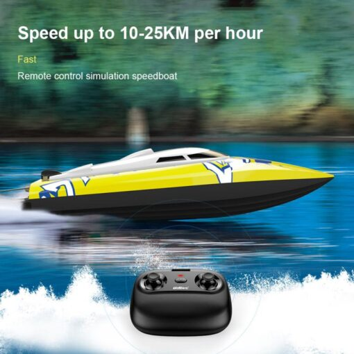 New Brushless RC Racing Boat 20KM h High Speed Electronic Remote Control Boat Toys For Kids 3