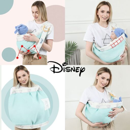 New Cartoon Child Sling Wrap Swaddling Kids Nursing Papoose Pouch Front Carry For Newborn Infant Baby 2