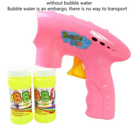 New Children Educational Toys Inertia Fun Color Cartoon Bubble Toy Bubble Machine For Fun Wholesale Drop 2