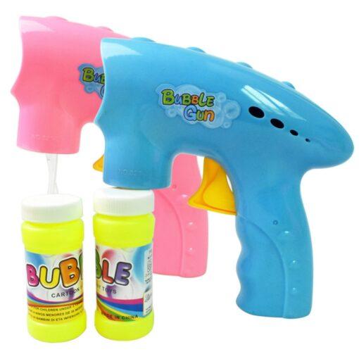 New Children Educational Toys Inertia Fun Color Cartoon Bubble Toy Bubble Machine For Fun Wholesale Drop