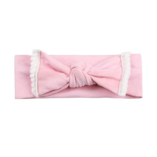 New Colorful Headwear Baby Girl Solid Color Bowknot Headband Hair Accessories For Baby Newborn New 2020 1