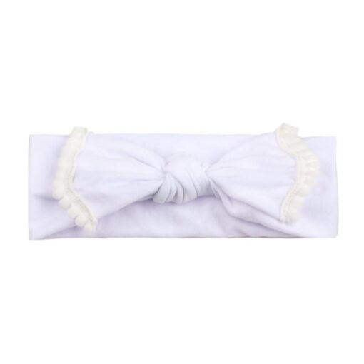 New Colorful Headwear Baby Girl Solid Color Bowknot Headband Hair Accessories For Baby Newborn New 2020 2