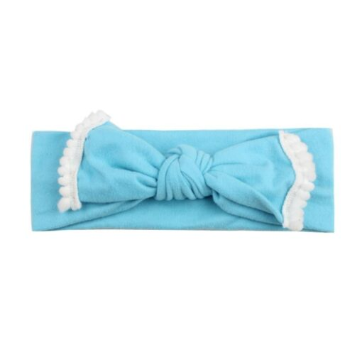 New Colorful Headwear Baby Girl Solid Color Bowknot Headband Hair Accessories For Baby Newborn New 2020 3