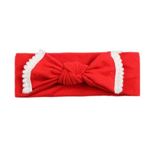 New Colorful Headwear Baby Girl Solid Color Bowknot Headband Hair Accessories For Baby Newborn New 2020 4