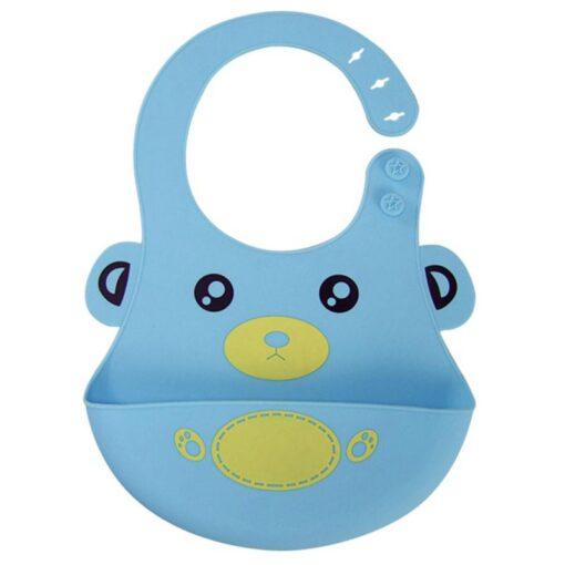 New Cute Cartton Baby Bibs Girl Boy Kid Newborn Waterproof Silicone Lovely Bib Saliva Towel Scarf 5