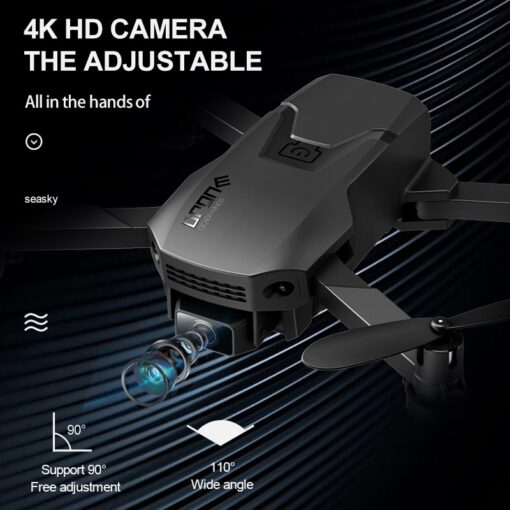 New H1 Mini Drone 4K HD Professional Camera WiFi FPV Visual Transmission Air Pressure Height Maintain 4