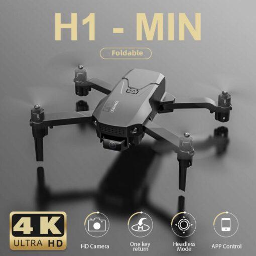 New H1 Mini Drone 4K HD Professional Camera WiFi FPV Visual Transmission Air Pressure Height Maintain