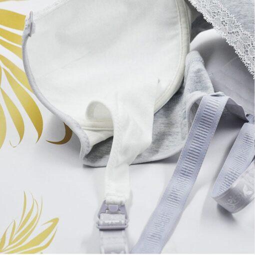 New Maternity Pregnancy Bras ropa mujer vetement femme Nursing Bra for Feeding Women Organic Cotton Breastfeeding 4