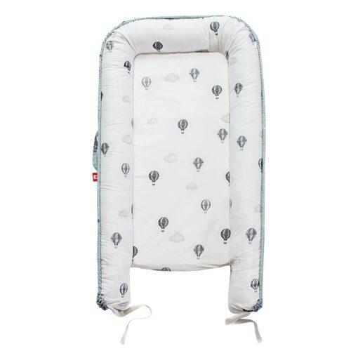 New Newborn Babynest Bed Portable Crib Travel Bed Tissu Coton Baby Nestje Baby Lounge Bassinet Bumper 4