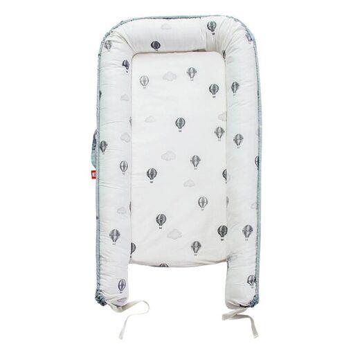 New Newborn Babynest Bed Portable Crib Travel Bed Tissu Coton Baby Nestje Baby Lounge Bassinet Bumper 9
