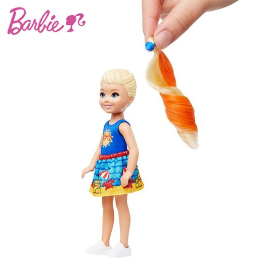 New Original Barbie Color Reveal Doll Surprise Discoloration Blind Box Chelsea With Accessories Toys Kid Girl 3
