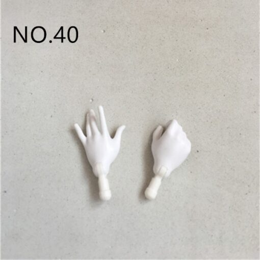 New Original Replacement Doll Hands Monstering High Doll Toy Parts Black Gray Yellow Blue Fishman Doll 1