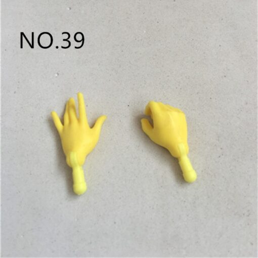 New Original Replacement Doll Hands Monstering High Doll Toy Parts Black Gray Yellow Blue Fishman Doll 2