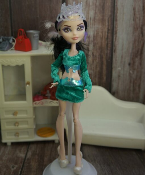 New Quality Monstering High Doll Dressing Soft Casual Wear Handmade Clothes Outfit Doll Clothing Set Girl 1