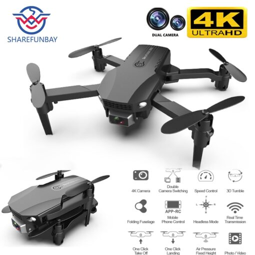 New R16 drone 4k HD dual lens mini drone WiFi 1080p real time transmission FPV drone