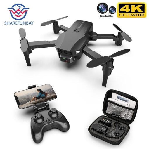New R16 drone 4k HD dual lens mini drone WiFi 1080p real time transmission FPV drone 6